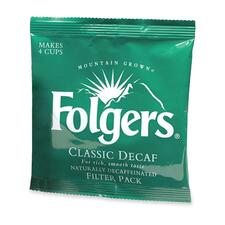 P&G Folgers Decaffeinated Coffee-Flavor Filter