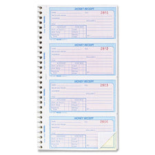 Rediform Money Receipt Spiral Collection Forms