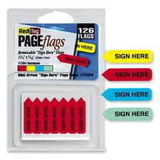 Redi-Tag Sign Here Mini Arrows