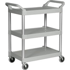 Rubbermaid Commercial 3-Shelf Utility Service Cart