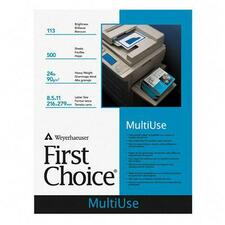 Weyerhaeuser First Choice Multiuse Copy Paper