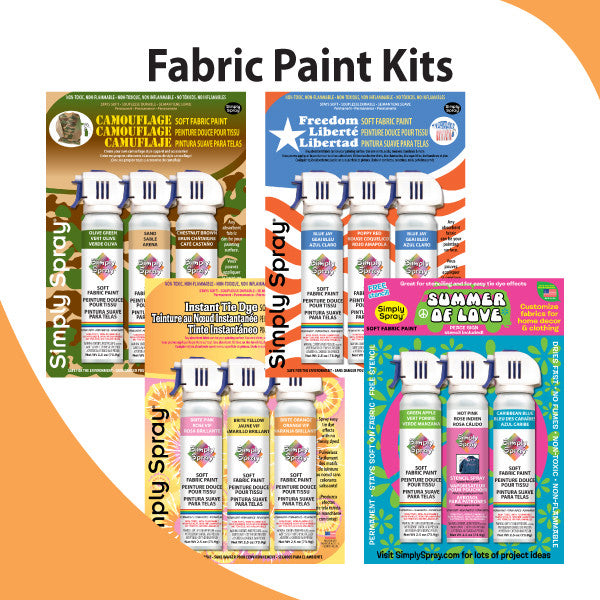 Tie Dye Kits & Project Stencil Paint Kits