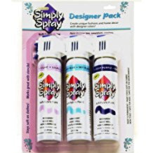 Designer Pack Kit- 3 Cans