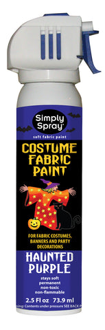 Haunted Purple Halloween Costume Paint (2.5oz Can)