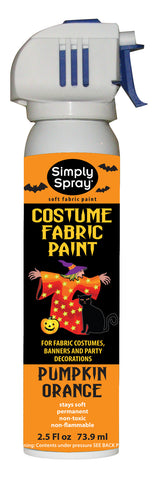 Pumpkin Orange Halloween Costume Paint (2.5oz Can)