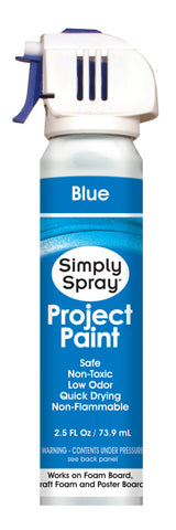 Blue Project Paint - (2.5 oz Cans)