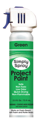 Green Project Paint - (2.5 oz Cans)