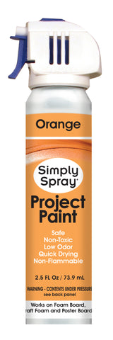 Orange Project Paint - (2.5 oz Cans)