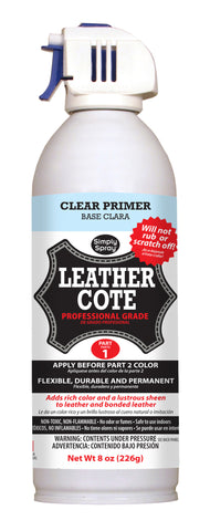 Charcoal Leather Cote- 2 Part System