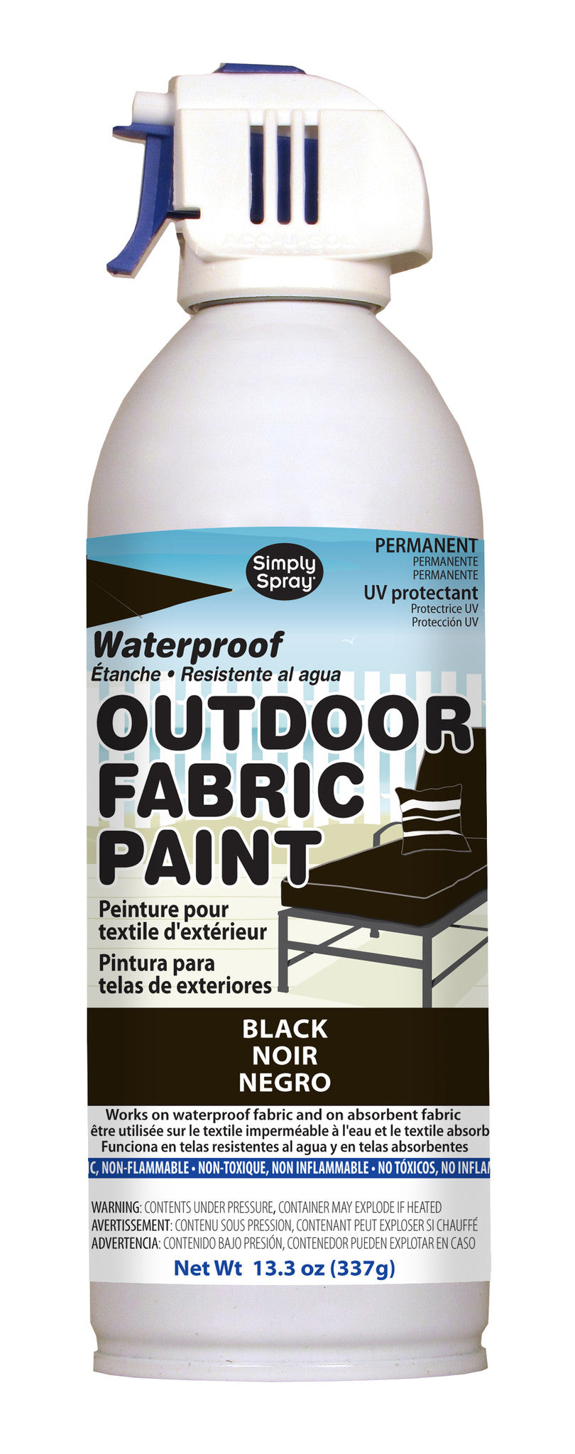 Outdoor Fabric Paint - Simply Spray