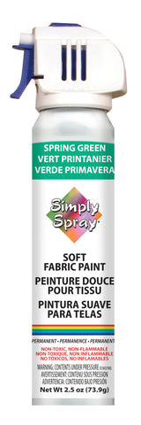 Spring Green Soft Fabric Paint- PMS 3405 (2.5oz Can)
