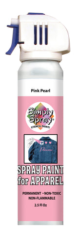 Pink Pearl Stencil Paint- PMS 509 (2.5 oz Cans)