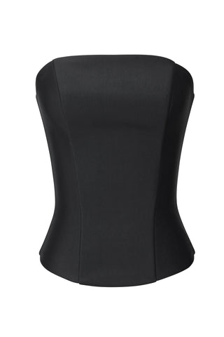 The Off Label Black Bustier Corset Top