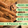 Cinnamon – A Panacea for Lots of Diseases