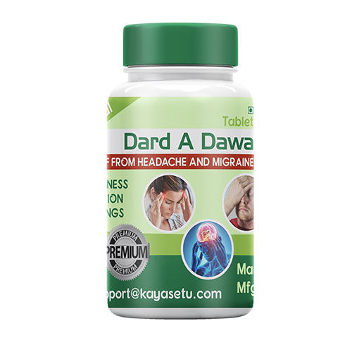 Dard A Dawa- Quick relief in migraine and headache