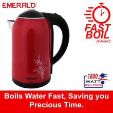 Load image into Gallery viewer, EK741KG Imperial Red 1.8 Litre Electric Kettle