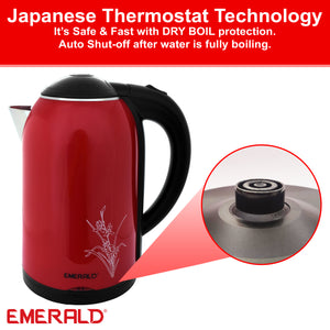 EK741KG Imperial Red 1.8 Litre Electric Kettle