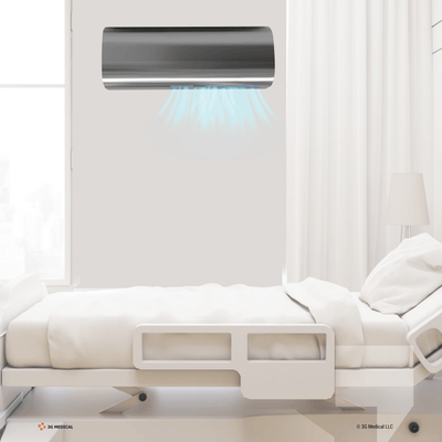 3G AIRFLOW Air Decontamination Unit with UV-C and TiO2 technology