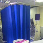 Anti-Microbial 120gsm Disposable Hospital Cubicle Curtains - 3G Medical Limited