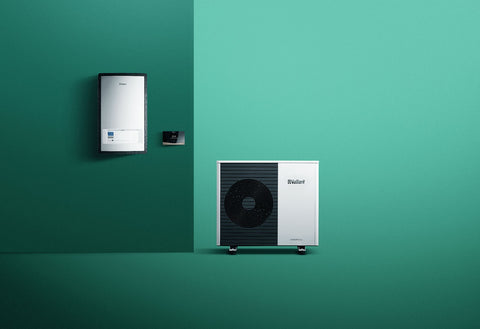 Vaillant Arotherm AI Plus With Heat pump interface
