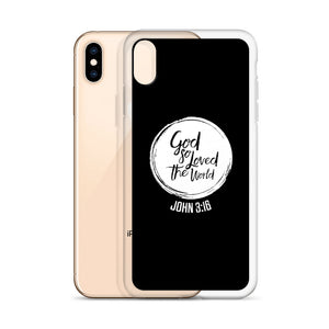 """God So Loved"" iPhone Case"