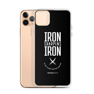 """Iron Sharpens Iron"" iPhone Case"