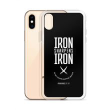 "Load image into Gallery viewer, ""Iron Sharpens Iron"" iPhone Case"