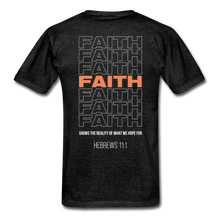 "Load image into Gallery viewer, ""Faith"" Men's T-Shirt - charcoal gray"