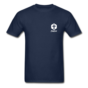 """COVID Antidote Alternative"" - Men's T-Shirts - navy"