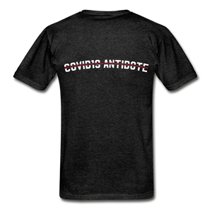 """COVID Antidote Alternative"" - Men's T-Shirts - charcoal gray"