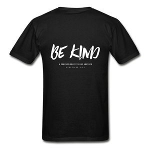 """Be Kind"" Mens T-Shirt - black"