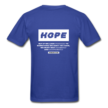 "Load image into Gallery viewer, ""Hope"" Men's T-Shirt - royal blue"