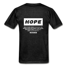 "Load image into Gallery viewer, ""Hope"" Men's T-Shirt - charcoal gray"