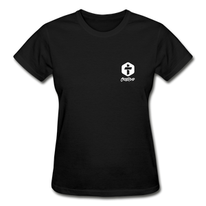 """Love Is Patient"" Women's T-Shirt - black"