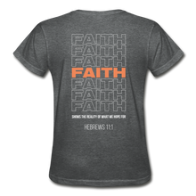 "Load image into Gallery viewer, ""Faith Alternative"" Women's T-Shirt - deep heather"