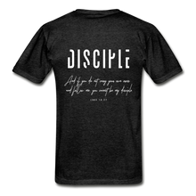 "Load image into Gallery viewer, ""Disciple"" - Men's T-Shirt - charcoal gray"
