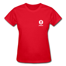 "Load image into Gallery viewer, ""Disciple"" - Women's T-Shirt - red"