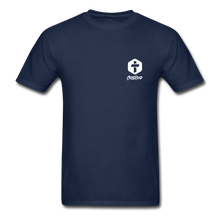 "Load image into Gallery viewer, ""Love Is Patient"" Men's T-Shirt - navy"