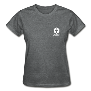 """Faith"" Women's T-Shirt - deep heather"
