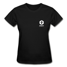 "Load image into Gallery viewer, ""Women Of God"" T-Shirt - black"