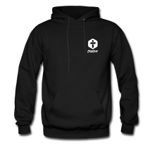 "Load image into Gallery viewer, ""Disciple"" Men's Hoodie - black"