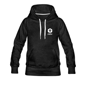 """Faith"" Women's Hoodie - charcoal gray"