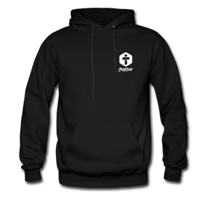 """Man Of God"" Men's Hoodie - black"