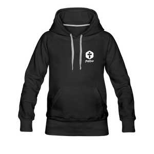 """Two Are Better"" Women's Hoodie - black"