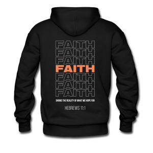 """Faith Alternative"" Men's Hoodie - black"