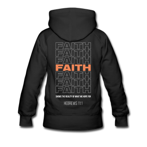 """Faith Alternative"" Women's Hoodie - black"