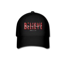 "Load image into Gallery viewer, ""Believe"" Baseball Cap - black"