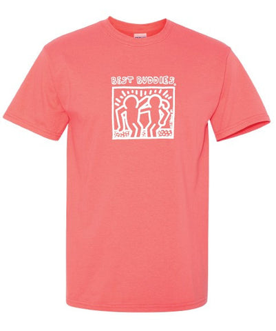 YOUTH - White Haring Tee (Coral)