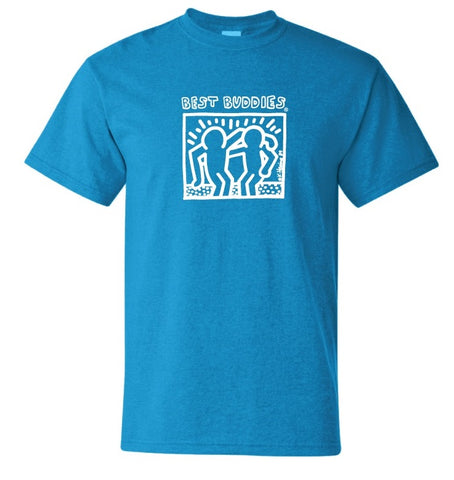 NEW White Haring Tee (Heather Sapphire)