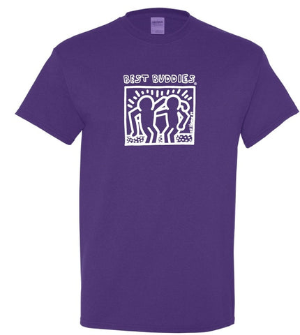 NEW White Haring Tee (Lilac)